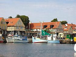 Hotels auf Bornholm. Hotel - Guide Bornholm.    -  Hotel Siemsens Gaard