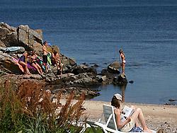 Camping auf Bornholm     -  Sannes Familiecamping