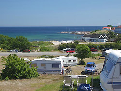 Camping auf Bornholm     -  Sandvig Familie Camping