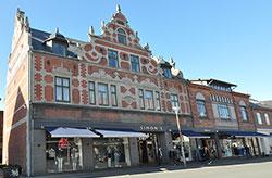 Geschäfte auf Bornholm, wie z.B.  -  Simons