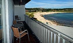 billig Ferienhaus - Ferienwohnung - Nordbornholm - Privat    -  Strandpromenaden