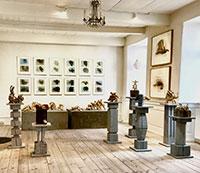 Gallerien auf Bornholm    -  Galleri Klejn