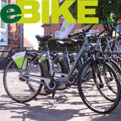 <b>Transport auf Bornholm </b> -  El-cykler cykeludlejning